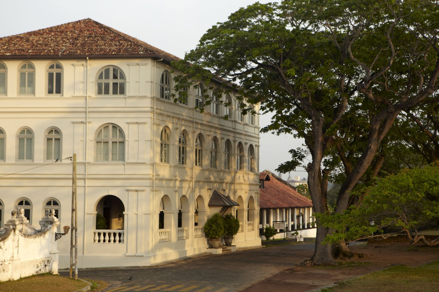 Amangalla is a Sri Lanka luxury hotel in Galle